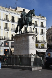 The hero of the Puerta del Sol