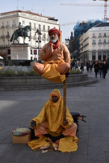 And then there are the eccentricities to attract tourists in the Puerta del Sol