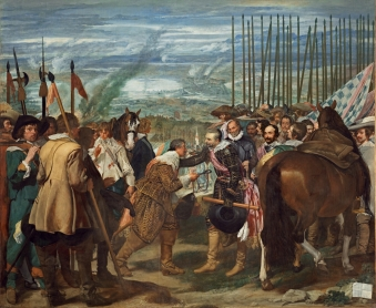 The Surrender of Breda; Diego Rodríguez de Silva y Velázquez. The glories of defeating the Dutch.