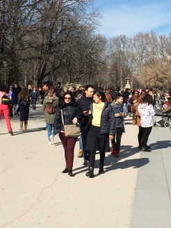 People Watching at the Retiro
