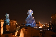 On top of Pedrera