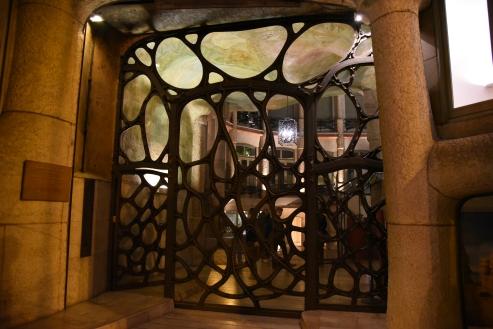 Door at Pedrera