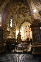 The Chapel of the New Kings holds the remains of ancestors of Queen Isabella.