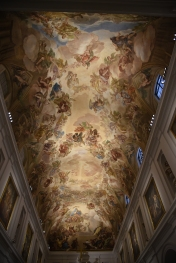 Ceiling of the Sacristy.