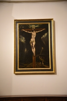 El Greco's Crucifixion.