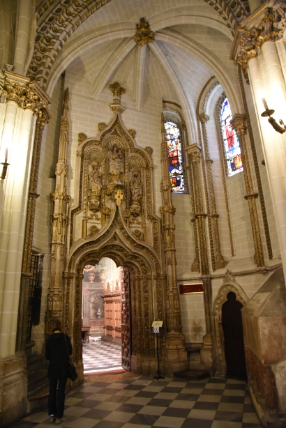 Entrance to the Chapter House.