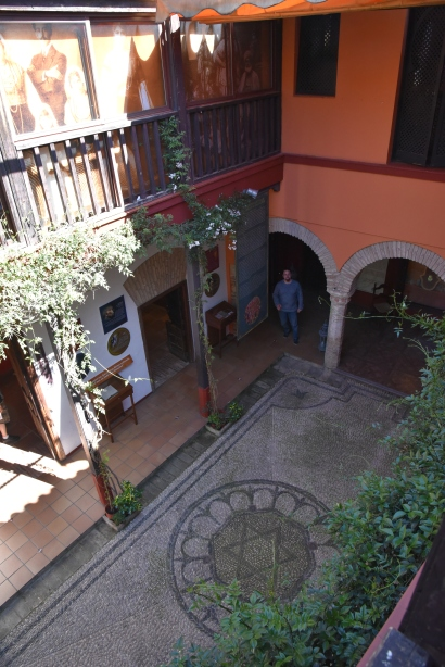 Floor of the Casa de Safared.