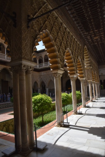 The Mudejar - Islamic / Christian - hybrid style.
