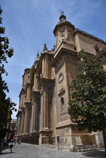 The Cathedral in Granada.